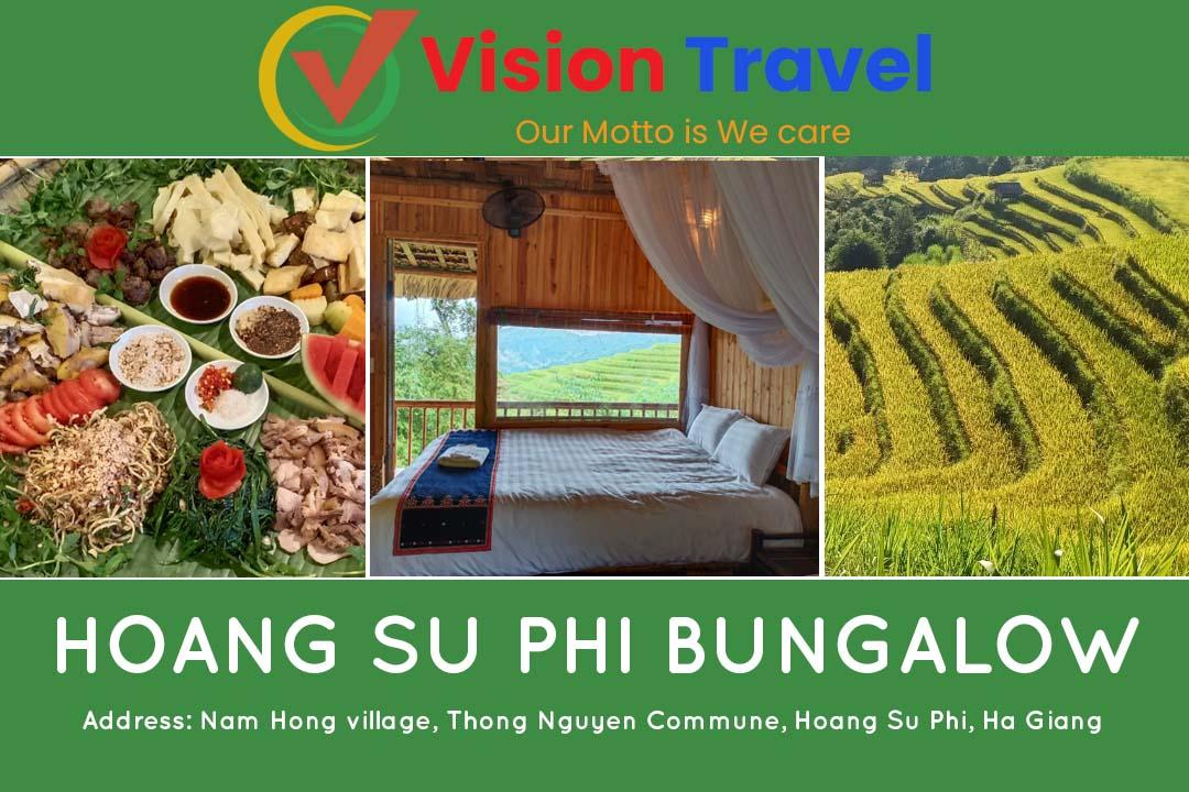 Hoang Su Phi Bungalow - Hoang Su Phi homestay