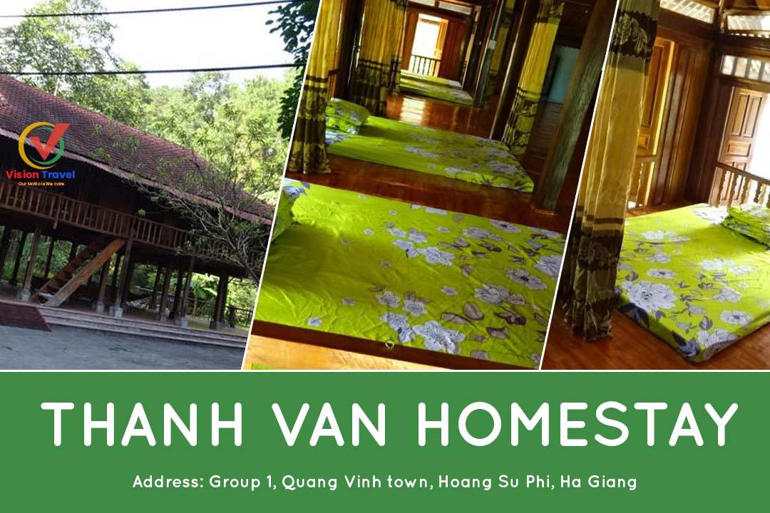 Thanh Van Homestay - Hoang Su Phi homestay
