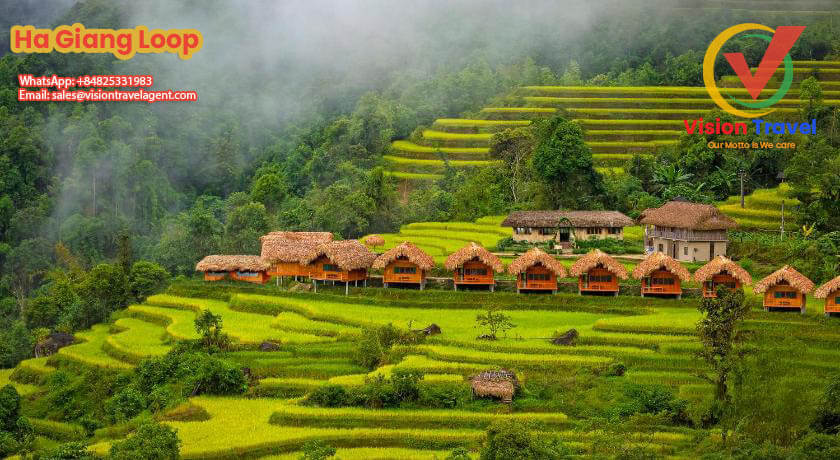 Hanoi – Thong Nguyen village7-day by vehicle Ha Giang – Cao Bang, Northern Vietnam Adventure (Home stay, Trekking, Market)